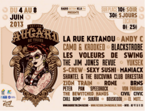 Affiche du festival La Rue Ketanou