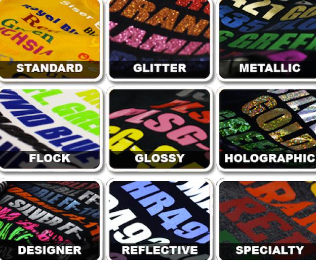 T-Shirt Design Farben