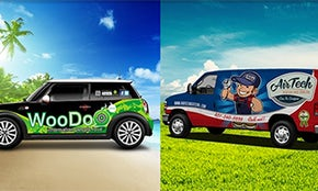 Don't miss these amazing vehicle wraps!