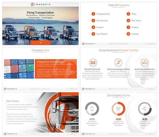 Professionelle PowerPoint Designs