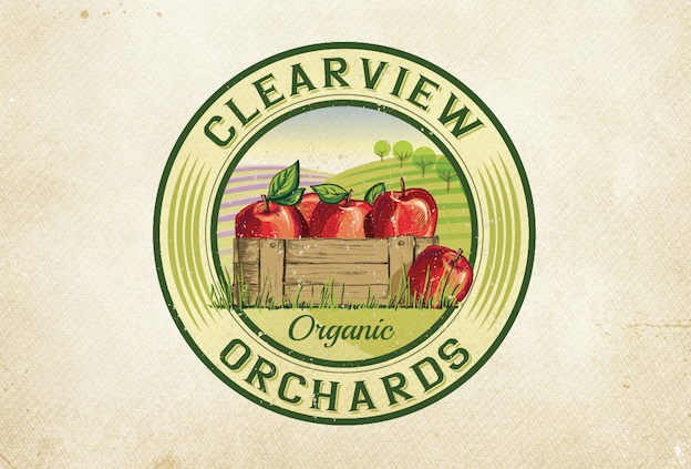 Logo-Design by Agi Amri – Clearview Orchards