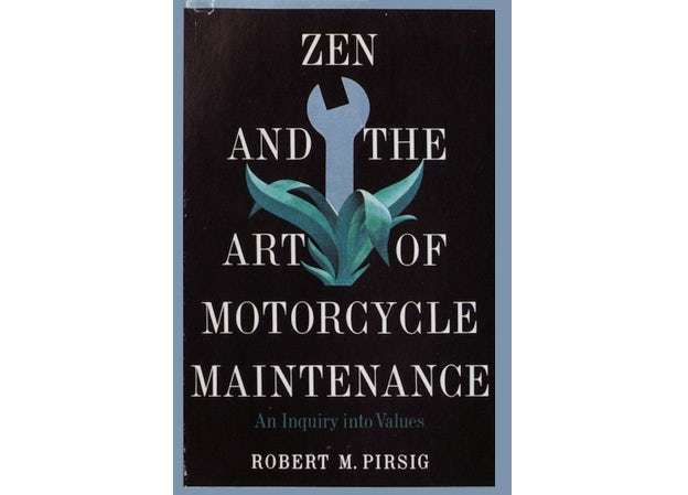 zen and the art of motorcycle maintenance by Paul Bacon
