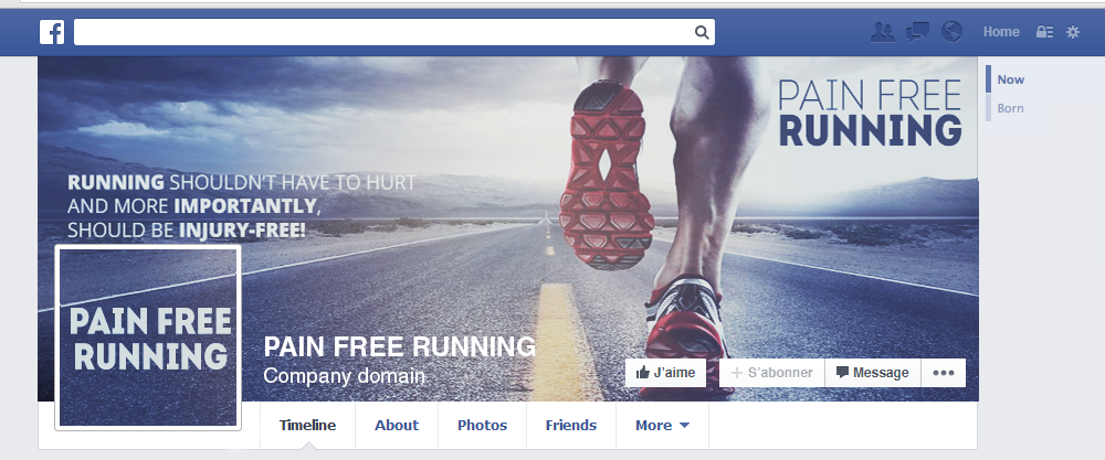 Couverture pain free running