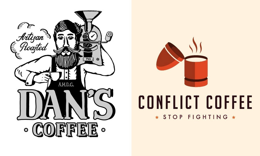 coffee shop logos