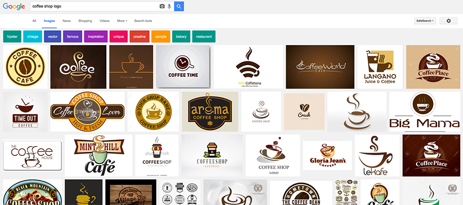generic coffee logos