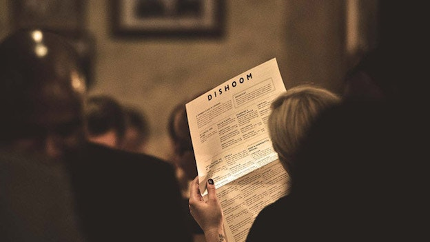 Dishoom menu
