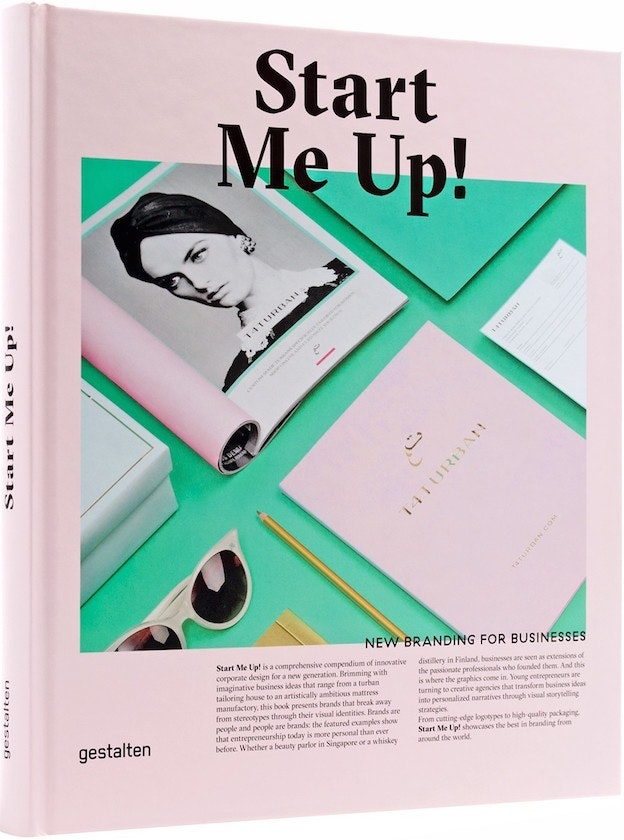 Graphic Design Book: Start Me Up!