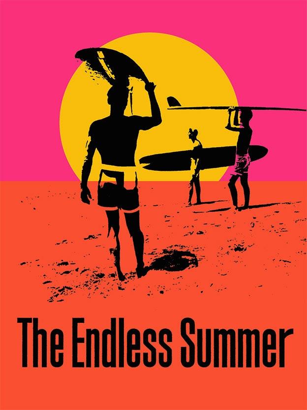 """The Endless Summer"" Movie Poster by John Van Hamersveld"