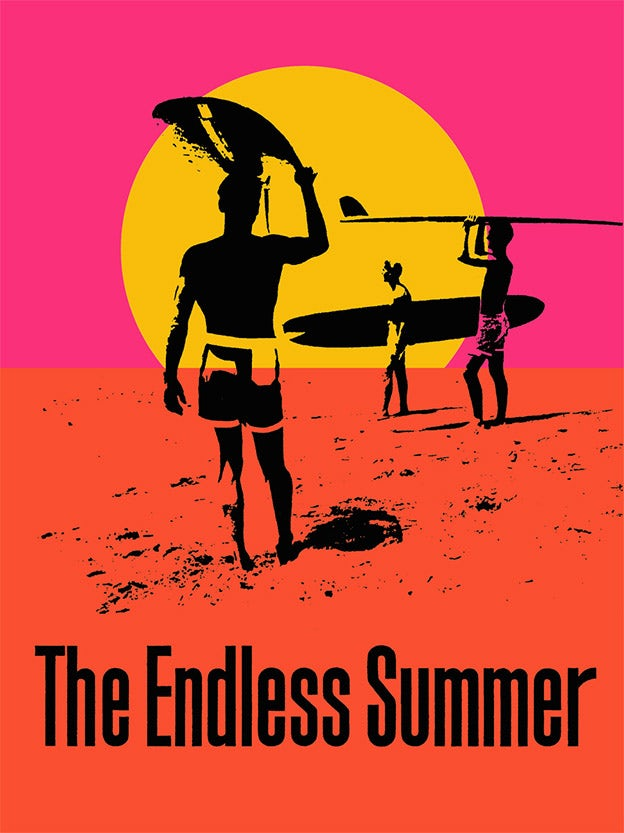 """The Endless Summer"" Movie Poster by John Van Hamersveld"
