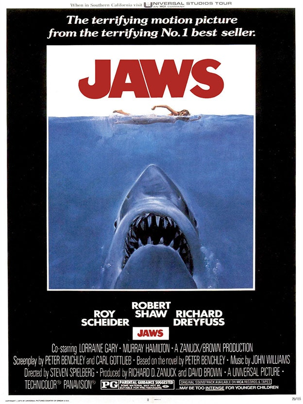 """Jaws"" Movie Poster"