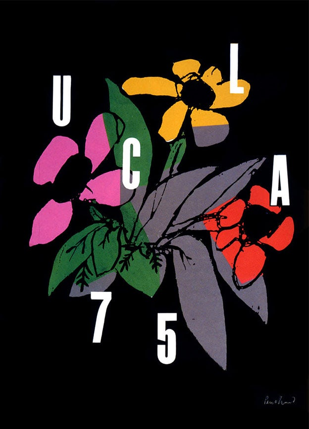 UCLA Poster by Paul Rand
