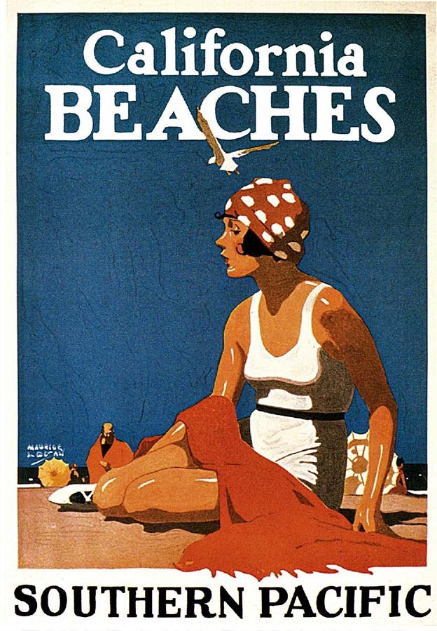 Summer Posters: California Beaches