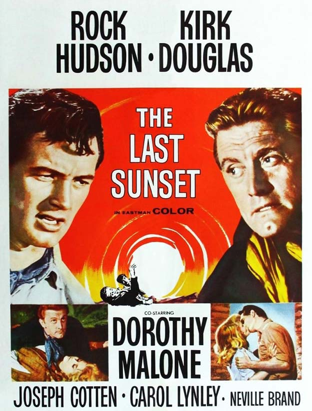 """The Last Sunset"" Movie Poster"