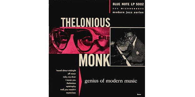 thelonius monk album art by Paul Bacon