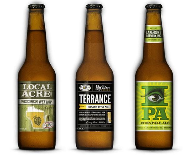 Lake Front Brewery Etiketten