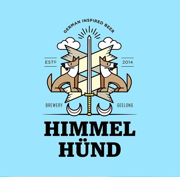 Himmel Hünd Logo Design