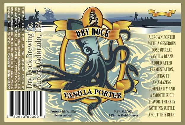 Dry Dock Bier-Etikett