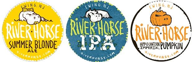 River Horse Etiketten
