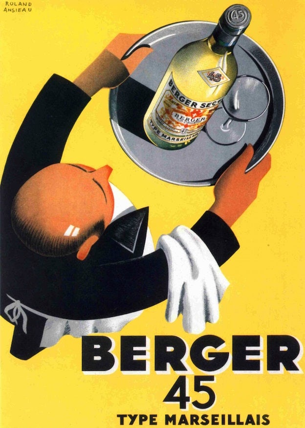 Berger 45 French wine