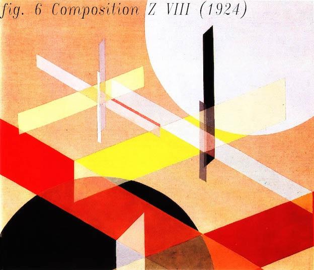 Laszlo Moholy Nagy.Kompozicija Z VIII.1924