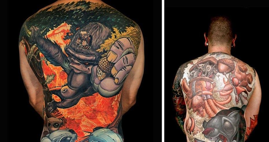 Tattoo Styles - New School