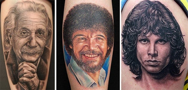 Tattoo-Stile - Portraits