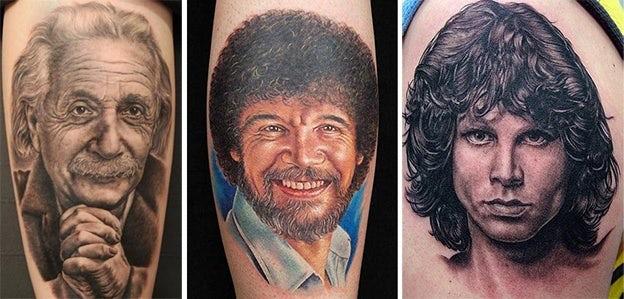 Tattoo Styles - Portraiture
