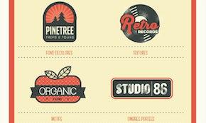 La recette pour créer un logo rétro