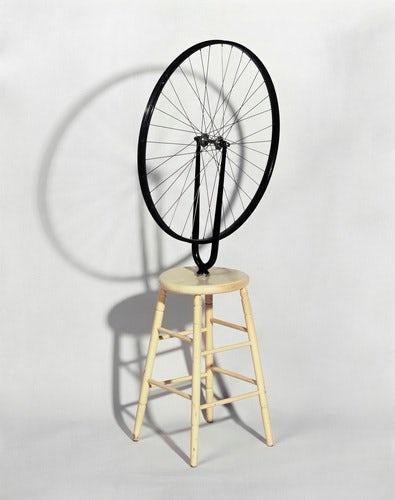 Roue de bicyclette - Duchamp