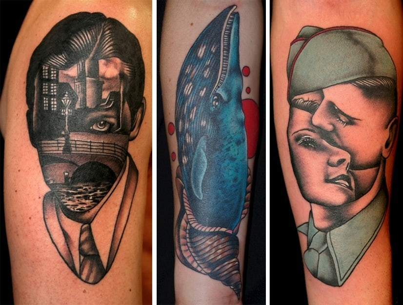 Tattoo Styles - Surrealism