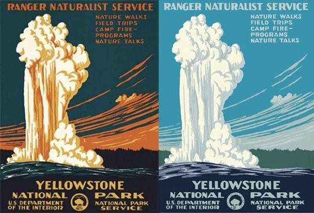Design Myster - The Yosemite Posters