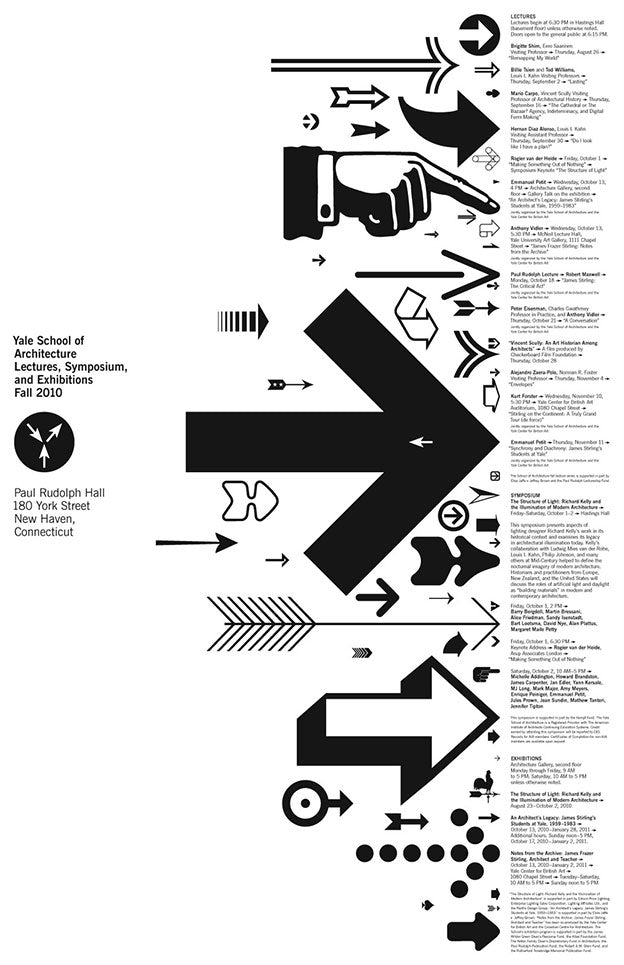 Poster design by Michael Bierut