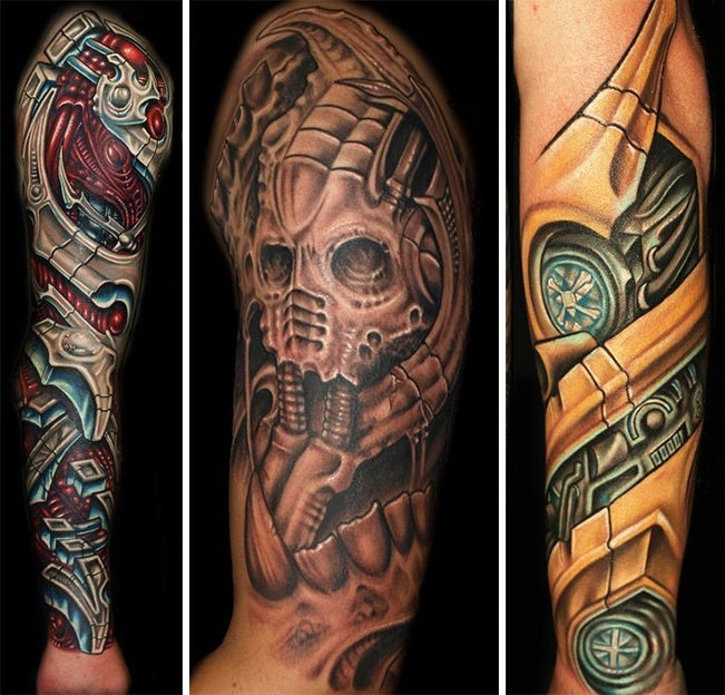 Tattoo-Stile - Biomechanisch