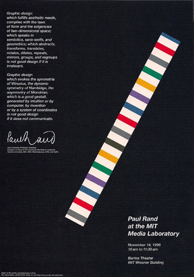 Poster Design By Paul Rand