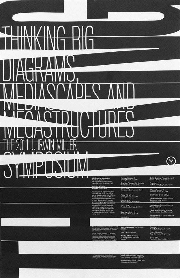 Poster design by Michael Bierut