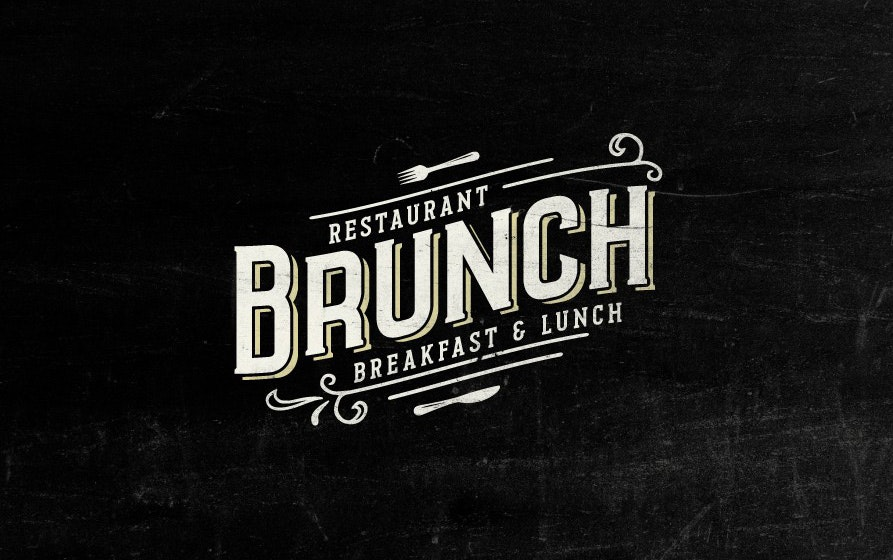 16 brunch logo