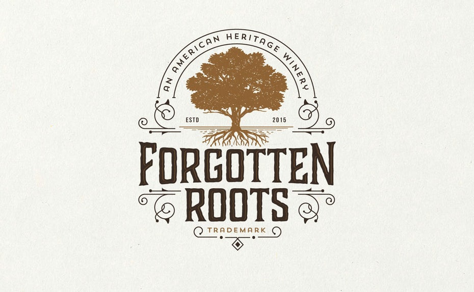 18 roots logo