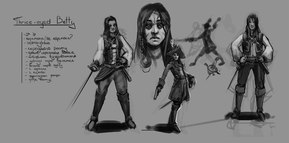 scribbles piraten