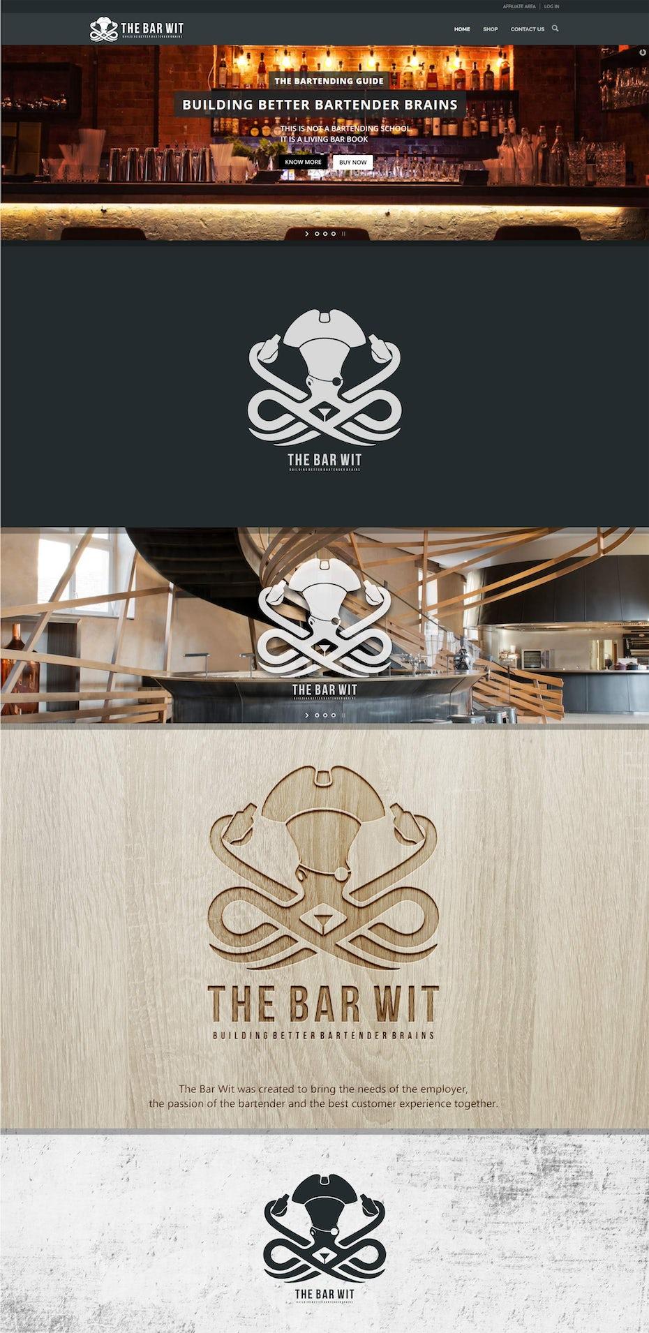 40 restaurant logo