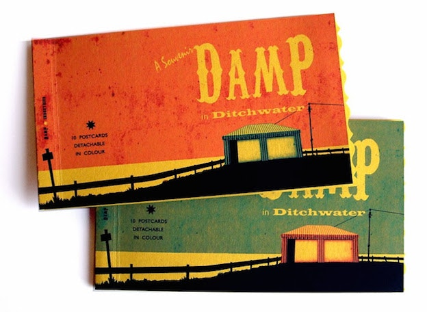 Artists' books - Damp Flat