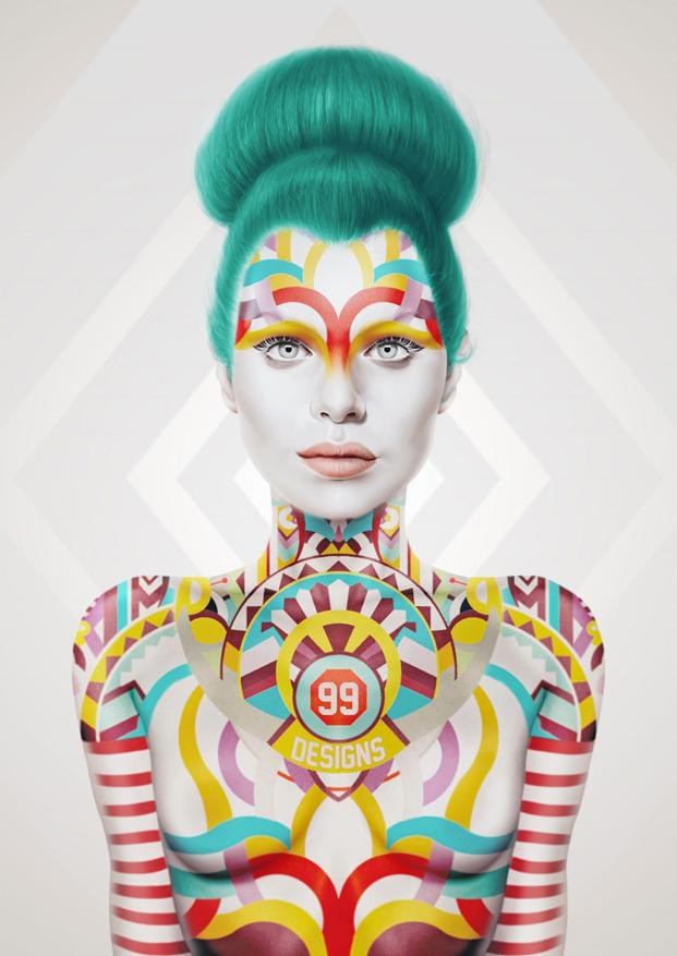 Affiche réalisée par Giulio Rosi pour le concours de poster Oakland