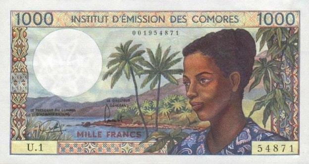 Comorian Franc
