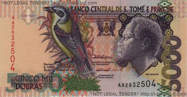 Sao Tome and Principe Dobra