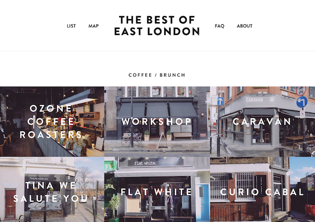 best of east london