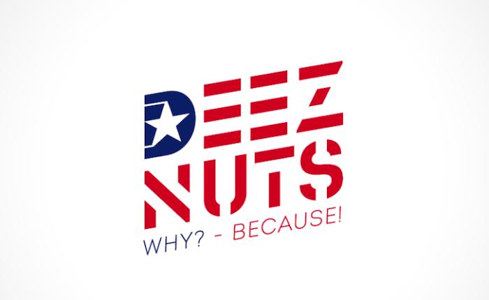 Deez Nuts president logo