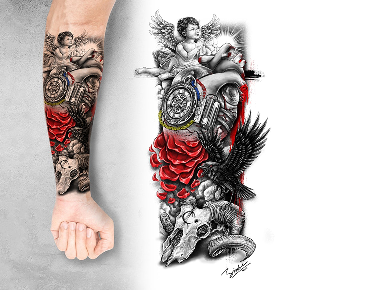 12 Classic Tattoo Styles You Need To Know 99designs