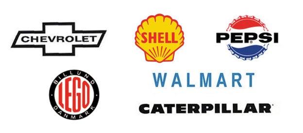Logo-Designs von 1950 bis 1965