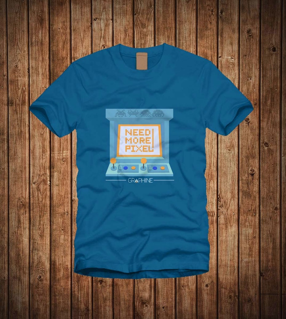 11 t-shirt with pixels