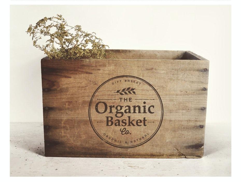 13 organic logo