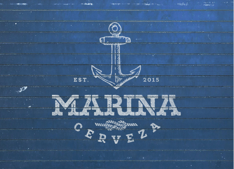 13 marina logo